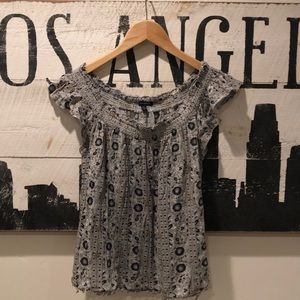 American Eagle Outfitters BOHO Style Tank Top sz S